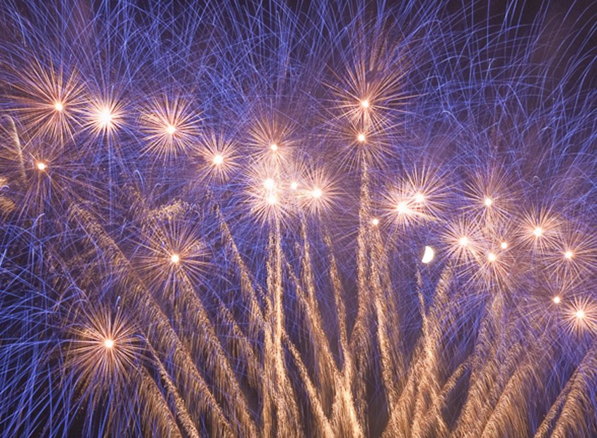 The International Fireworks Competition on the Costa Brava