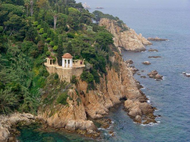 Templet des del mar