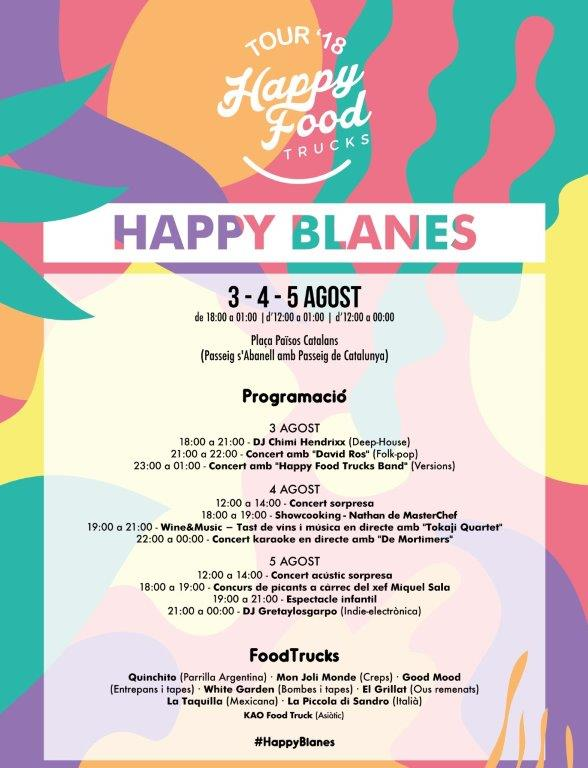 happy food trucks blanes