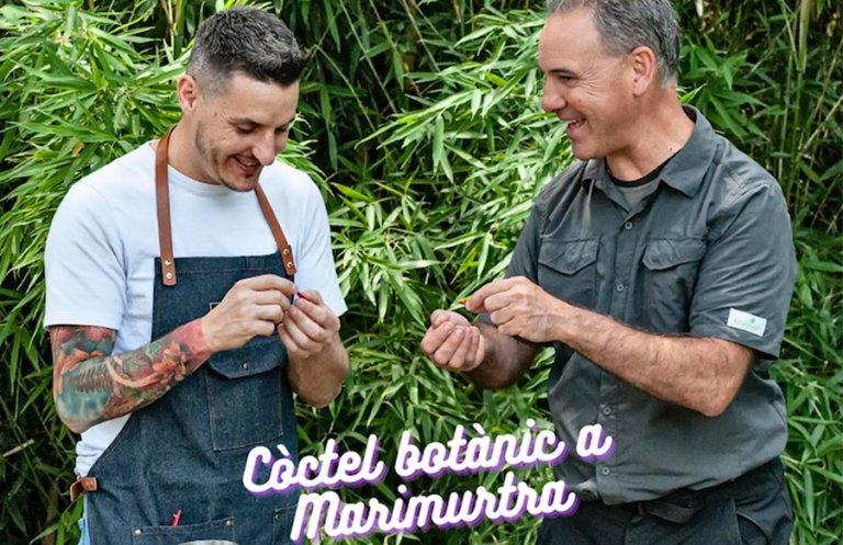 Cocktail botanique à Marimurtra