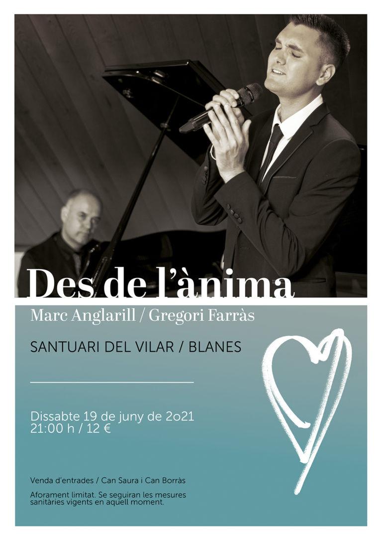Concierto «Des de l'ànima» de Marc Anglarill y Gregori Farràs